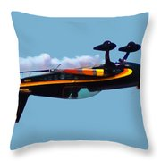 Extra 300s Stunt Plane Throw Pillow