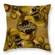 Extracts From Uplifting Energy Throw Pillow