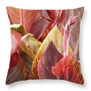 Extraordinary Foilage Throw Pillow