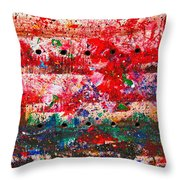 Extravaganza Throw Pillow
