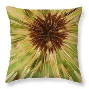 Extreme Dandelion Throw Pillow