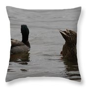 Extreme Fishing Throw Pillow