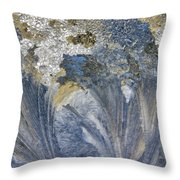 Extreme Frost Throw Pillow