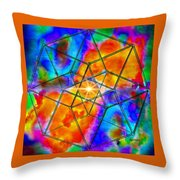 Dyson Sphere Throw Pillow