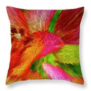 Extruded 692 Throw Pillow