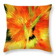 Extruded 947 Throw Pillow