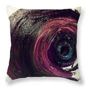 Eye Abstract II Throw Pillow