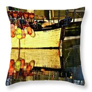 Eye Catching Colors  Throw Pillow