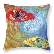 Eye For Eye Throw Pillow