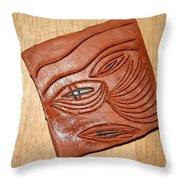 Eye In Year 10 - Tile Throw Pillow