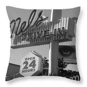 eye love Mel's Throw Pillow
