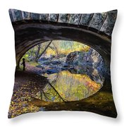Eye Throw Pillow by Mary Amerman