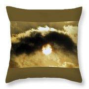 Eye Of Heaven Throw Pillow