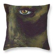 Eye Of Ivy Throw Pillow