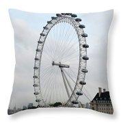 Eye Of London I Throw Pillow