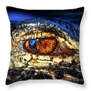 Eye Of The Apex Throw Pillow