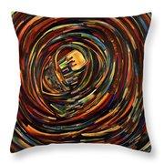 Eye Of The Cosmos Throw Pillow