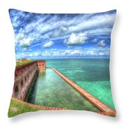 Eye Of The Fort Throw Pillow