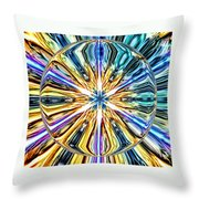 Eye Of The Portal 7th Dimension Activation 4 Throw Pillow