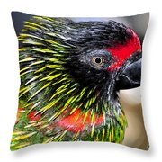 Eye Of The Tropics Throw Pillow