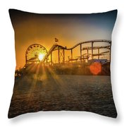 Eye Of The Wheel Throw Pillow