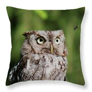 Eye On The Fly Throw Pillow