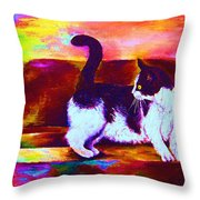Eye On The Prize Throw Pillow