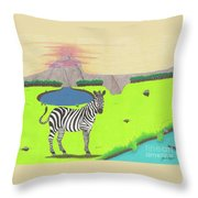 Eye See You Throw Pillow by John Wiegand
