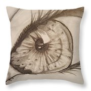 Eyeball 1 Throw Pillow