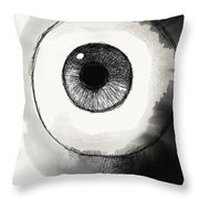 Eyeball Throw Pillow