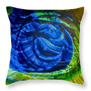 Eyeing A Storm Throw Pillow