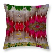 Eyes Made Of The Nature Throw Pillow