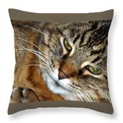 Eyes Of Love Throw Pillow