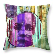 Eyes Of The Accusers Throw Pillow