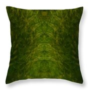 Eyes Of The Garden-2 Throw Pillow