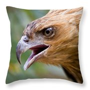 Eyes Of The Hunter Throw Pillow