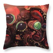 Eyes Of The Universe # 5 Throw Pillow