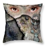 Eyes Of Vision Throw Pillow
