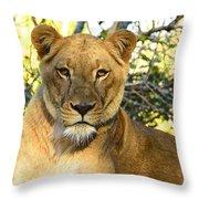 Eyes On U Throw Pillow