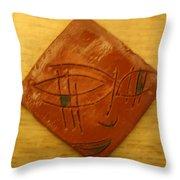 Eyes On You - Tile Throw Pillow