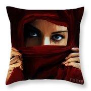 Eyes On You 01 Throw Pillow