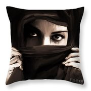 Eyes On You  Throw Pillow