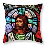 Eyes To Heaven Throw Pillow