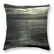 Eype Mouth Dorset Throw Pillow
