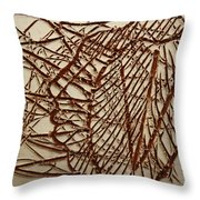 Ezra - Tile Throw Pillow