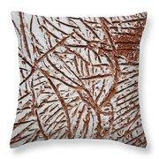 Ezras Day - Tile Throw Pillow