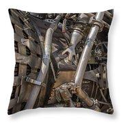 F-1 Rocket Engine Throw Pillow