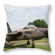 F-105 Thunderchief - 1 Throw Pillow