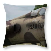 F -105 Thunderchief - 2 Throw Pillow