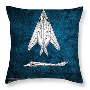 F-117 Nighthawk  Throw Pillow